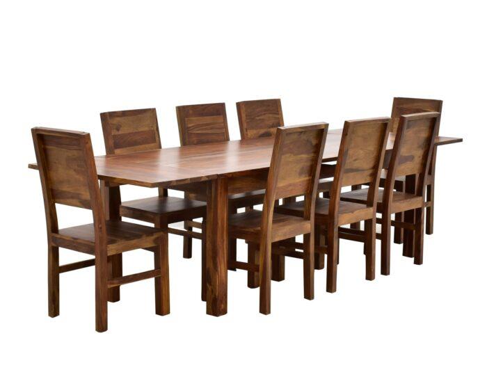 Komplety obiadowe kolonialne (zestawy stół + krzesła)