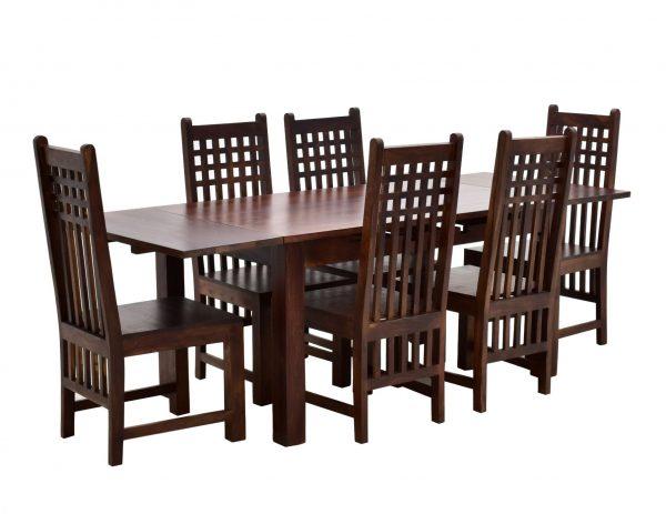 komplet-obiadowy-jadalnia-kolonialny-stol-rozkladany-6-krzesel