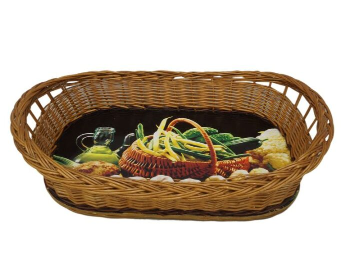 Wyroby z wikliny - kosze, tace i inne