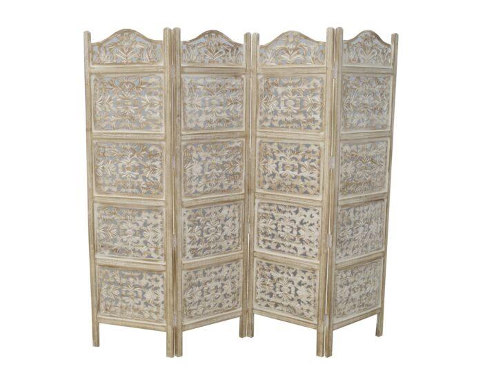 parawan-indyjski-kolonialny-azurowy-4-panelowy