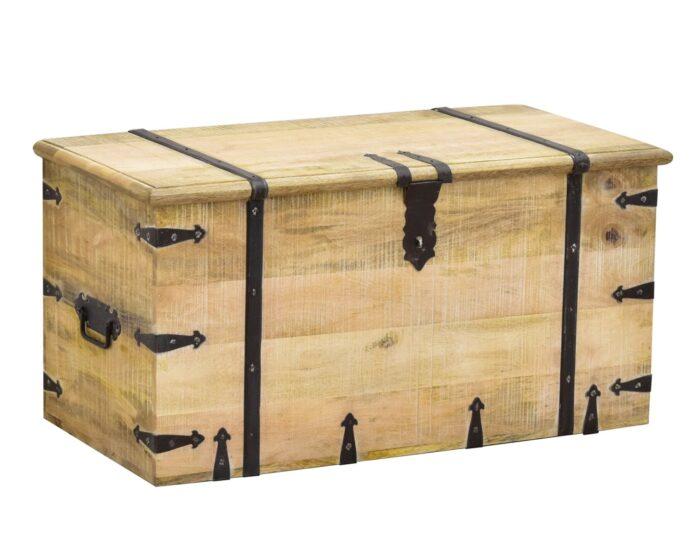 Kufry kolonialne, skrzynie